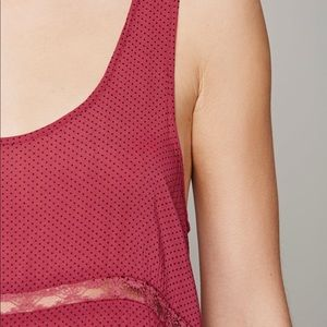 Free People Dresses - Free People Voile and Lace Trapeze Slip